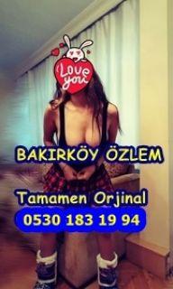Bakırköy escort bayan Özlem